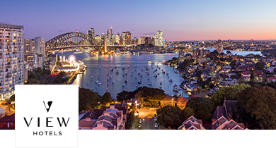 Image of Sydney Harbour at twilight