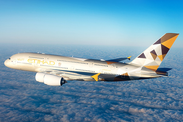 Etihad Airways aeroplane