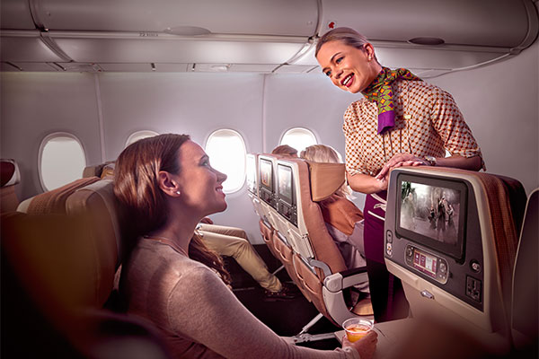 Etihad Airways redemption seats