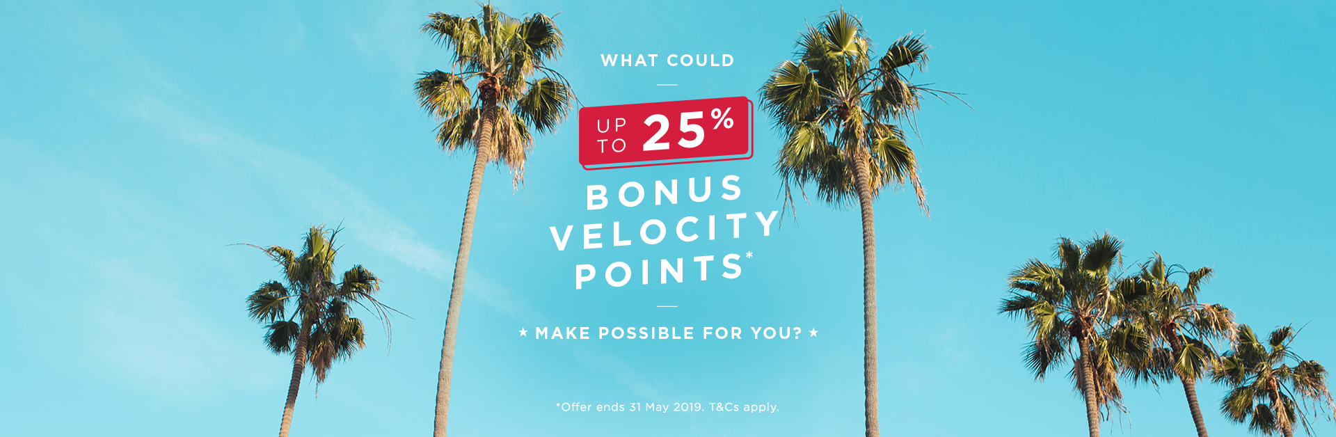 Transfer Bonus Campaign | Velocity Frequent Flyer
