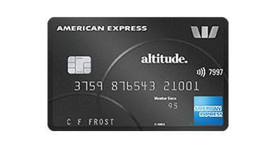 Image of the Westpac Altitude Black American Express card