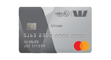 Image of the Westpac Altitude Platinum Mastercard card