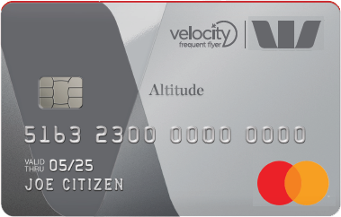 Westpac Altitude Platinum Credit Card with Velocity Points